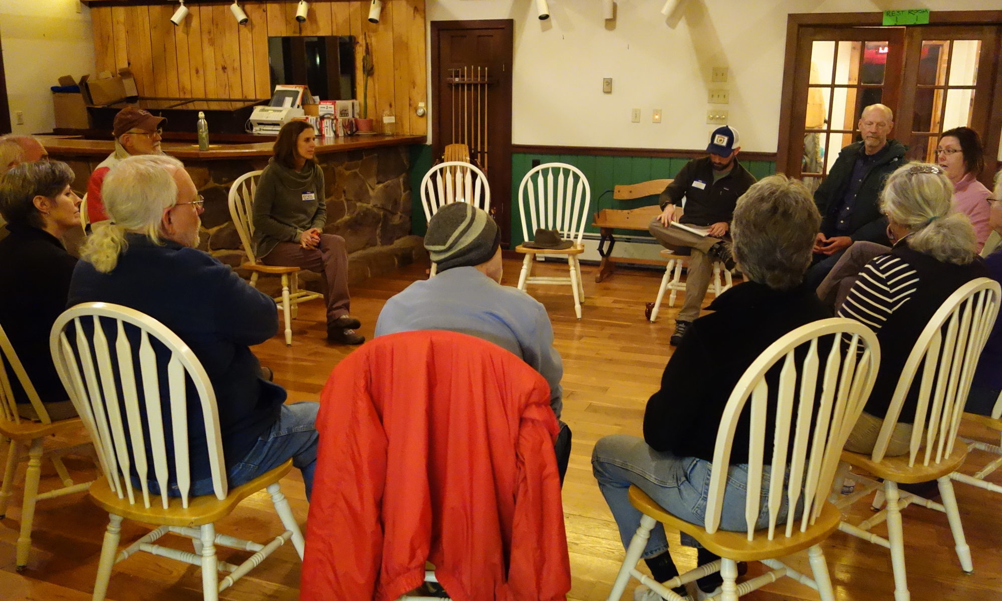 Friends of Highland Scenic Highway at 1st meeting